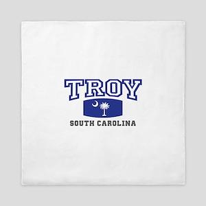 Troy South Carolina, SC, Palmetto State Flag Queen