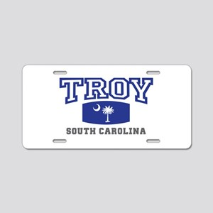 Troy South Carolina, SC, Palmetto State Flag Alumi