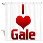 I Heart Gale Shower Curtain