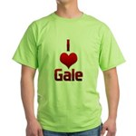 I Heart Gale Green T-Shirt