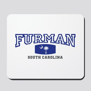 Furman South Carolina, SC, Palmetto State Flag Mou