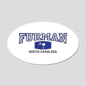 Furman South Carolina, SC, Palmetto State Flag 22x