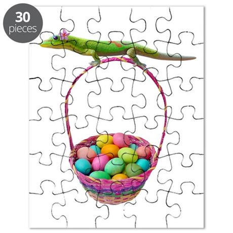 Easter Gecko Puzzle