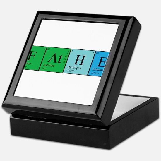 Periodic Father Keepsake Box