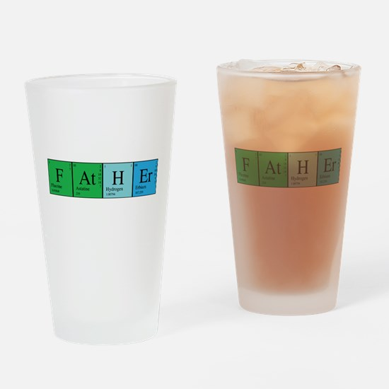 Periodic Father Drinking Glass