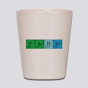 Periodic Father Shot Glass