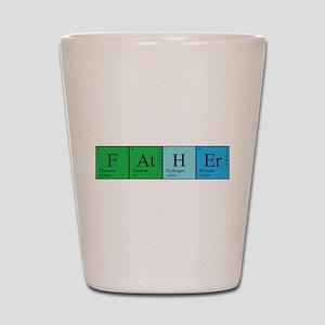 Periodic Father Shot Glass