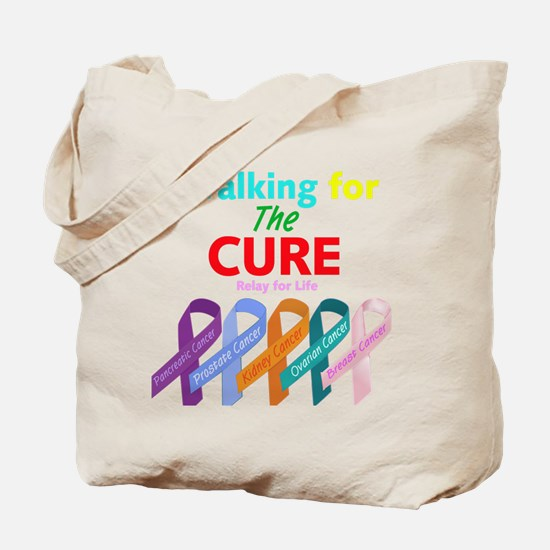 Walking for the CURE Tote Bag