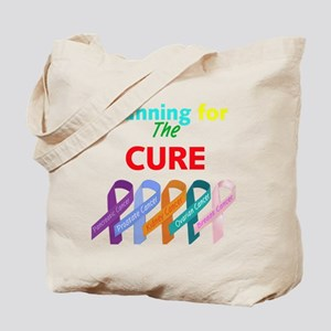 Running for the CURE Tote Bag