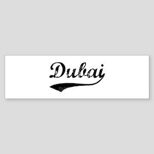 Vintage Dubai Bumper Sticker