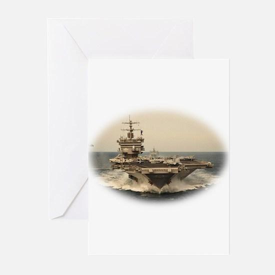 USS Enterprise Greeting Cards (Pk of 10)