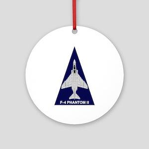 F-4 Phantom Ornament (Round)