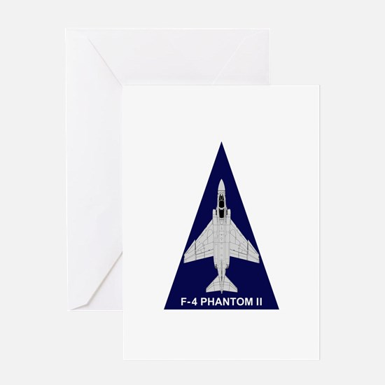F-4 Phantom Greeting Card