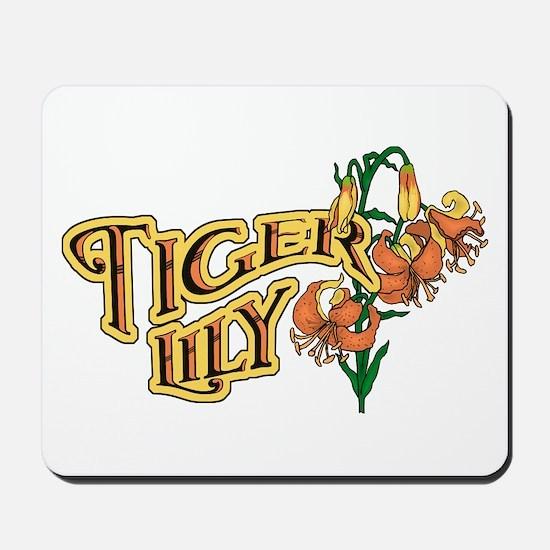 Tigerlily Mousepad