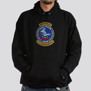 US - NAVY - Seal Team 4 Hoodie (dark)