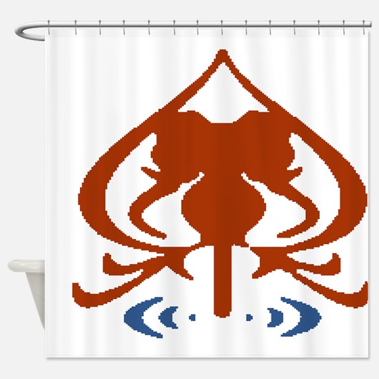 Hindu Symbol Shower Curtain