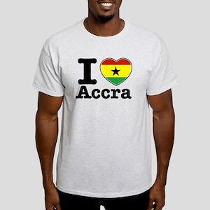 I love Accra Light T-Shirt