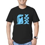 Let's Yoga Men's Fitted T-Shirt (dark)