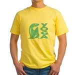 Let's Yoga Yellow T-Shirt