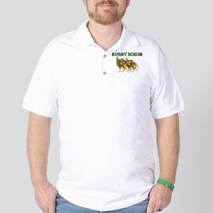 Springbok Rugby Scrum Golf Shirt