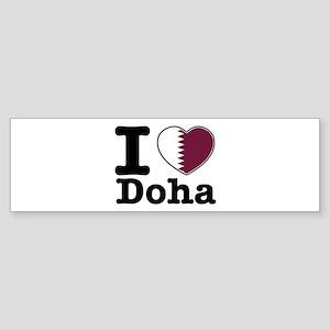 I love Doha Sticker (Bumper)