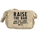 Raise the bar Messenger Bag