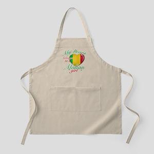 Malian Valentine's designs Apron