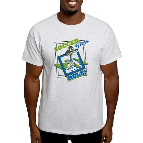 Soccer Girls Rules Light T-Shirt