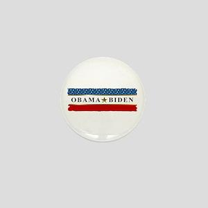 Obama Biden Star 2012 Mini Button