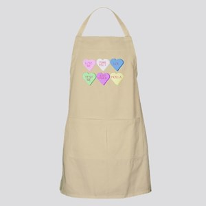 Mixed Heart Candies Apron