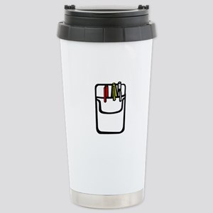 Pocket Protector Stainless Steel Travel Mug