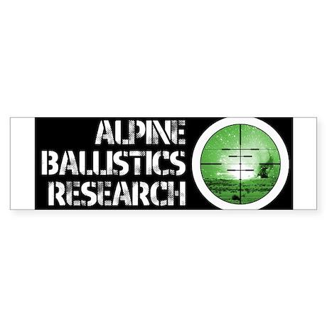 ABR WHITE Sticker (Bumper)