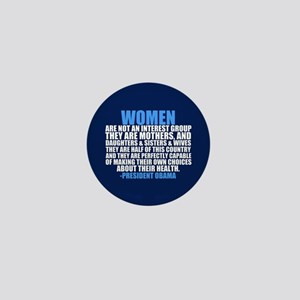 Pro Choice Women Mini Button