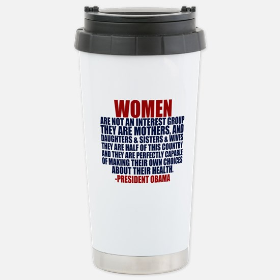 Pro Choice Women Stainless Steel Travel Mug