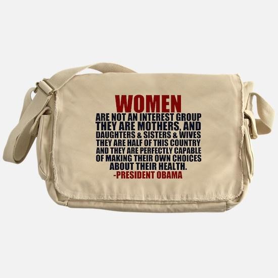 Pro Choice Women Messenger Bag