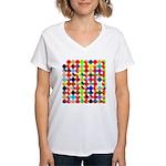 Prime Factorization Women's V-Neck T-Shirt