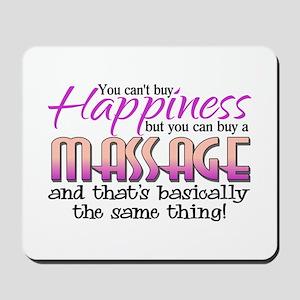 Happiness Massage Mousepad