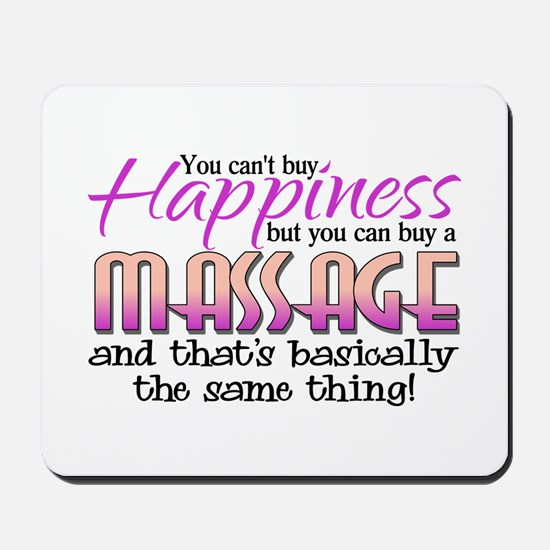 Happiness Massage Mousepad