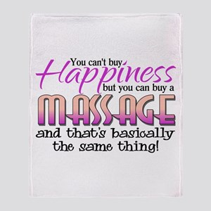 Happiness Massage Throw Blanket
