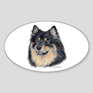 Finnish Lapphund Oval Sticker