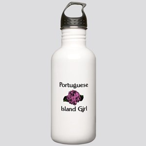 Portuguese Island Girl-Pink H Stainless Water Bott