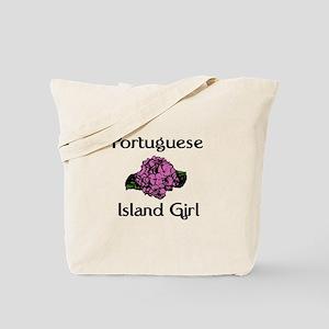 Portuguese Island Girl-Pink H Tote Bag