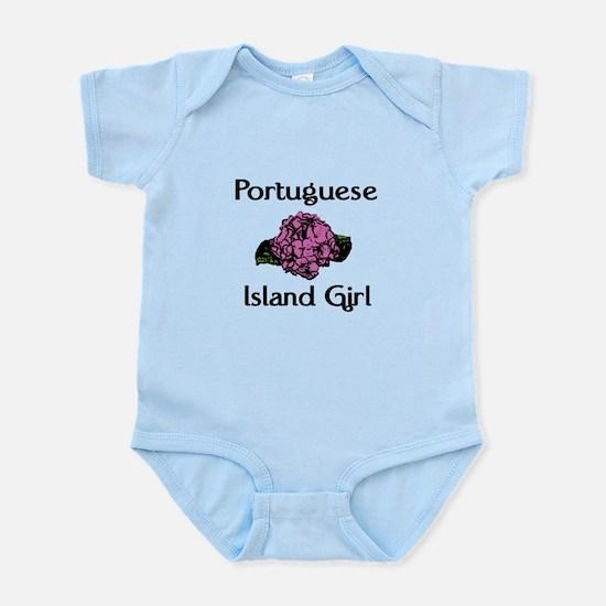 Portuguese Island Girl-Pink H Infant Bodysuit