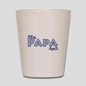 New Papa 2012 Shot Glass