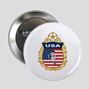 """USA Soccer 2.25"""" Button"""