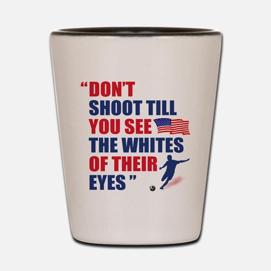 USA Soccer Shot Glass