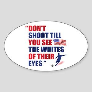 USA Soccer Oval Sticker