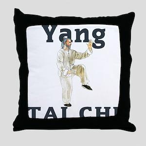 Yang Tai Chi Throw Pillow