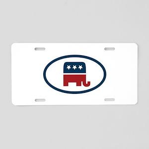 Republican elefant Aluminum License Plate