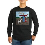 Scarecrow Fox and Hound Long Sleeve Dark T-Shirt